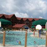 Outdoor Pool at Great Wolf Lodge