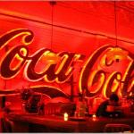 Coca Cola sign in Bone Lick Park