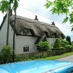 Thatched roof near Staunton Harold