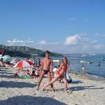 beach 15 min on foot