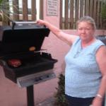 my sister and the fantastic gas grill