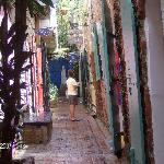 Alleyway by main st....Charlotte Amalie, St. Thomas