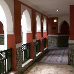 inside corridors for hotel