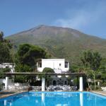 Stromboli from La Sciara pool