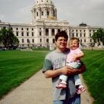John & Sara at the Minnesota State Capitol