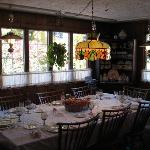 The breakfast/dining area