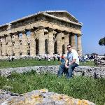 One of the three temples at Paestum
