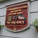 Sign at Weiss Paradise Suites