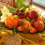 breakfast buffet Villa Rosa