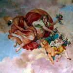 Original Fresco Ceiling