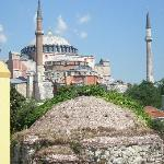 The Ayasofya - a stone's throw away