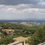 View from Sarteano Castle