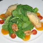 New Twist on a Spinich Salad