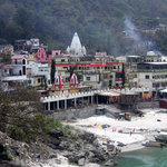 Temples at Rishikesh