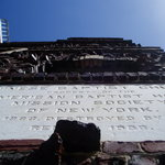Chinatown Baptist Church - built wiht bricks recovered from the San Francisco Fire of 1906