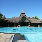 Main Hotel Building & Pool