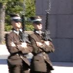 GUARDS AT FREEDOM MONUMENT