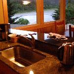 Luxurious Kitchen with view of River