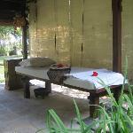 La table de massage