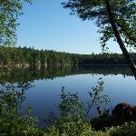 Sagamore Lake in the morning