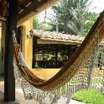 relaxing in villa das pedras