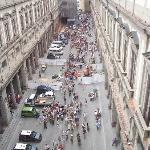 The Uffizi (Just around the corner)
