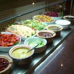 Buffet salade...