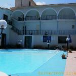 pool and view of rooms
