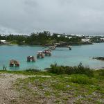 Remains of Bermuda Railway Bridge