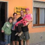 avec Marco et Lara