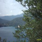 Lake Bled from the castel