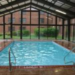 The indoor pool at the Quarters Inn, Rantoul