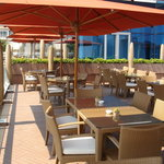 Bellevue Hotel restaurant terrace (breakfast, lunch, and dinner)