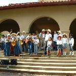 Sunday singing in the stockyards