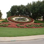 Las colinas floral clock, 10 minutes from hotel