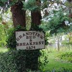 Sign at the Grandview, Astoria, Oregon