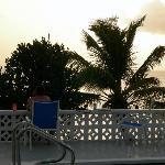 Sunset at Bunkum Beach Guest House