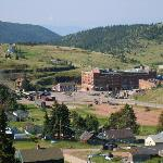 View of Cripple Creek from hotel