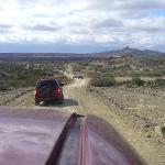 Ischigualasto - Car caravan