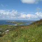 View of Connemara coast