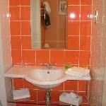 Bathroom - basin view.