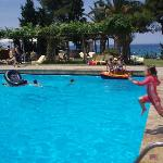 Deep end! Sani Beach Club pool. (17025886)