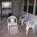 The picture of the screened in porch they didn't put on their web site