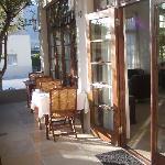 Or maybe breakfast al fresco!