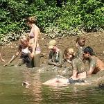 Amazon mud bath