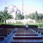 sultan achmet moschee am tag