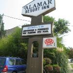 Alamar's front logo