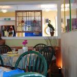 Inside the 42 Street Cafe, Seaview, WA