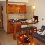 Kitchen lving area