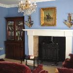 Lughnasa villa: sitting room